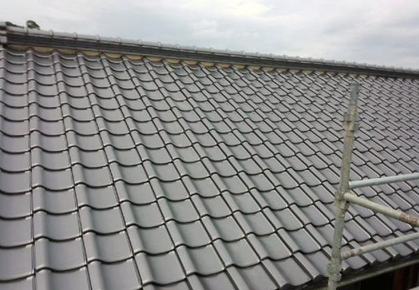 ①設置対象の屋根の確認